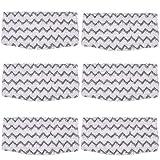 KEEPOW Ersatz-Pads für Dampfreiniger für Shark Staubsauger S1000A S1000 S1000C S1000WM S1001C, 6 Packungen