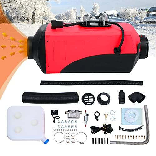 Ambienceo Calentador diésel 12 V 2 kW o 3 KW, 10 L, de aire, tanque, barco, remolque de coche, turismo, furgonetas, autocaravanas, caravanas