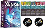 Bundle of Xenon Profiteer and The Xenon Tactics Expansion Deck Plus 2 Star Fighter Buttons