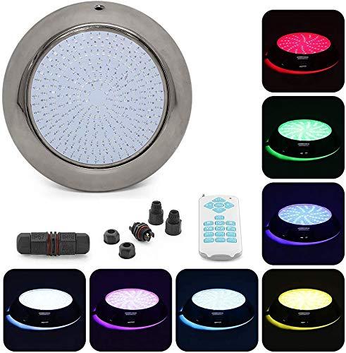 Tunez® Relleno de resina 18W Impermeable LED Pool Light Luz de Piscina...