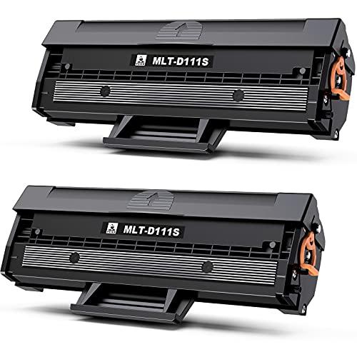 feier MLT-D111S D111S Cartucce Toner Ricambio per Samsung MLT-D111S MLT-D111L per Samsung Xpress M2026 M2026W M2070 M2070W M2070FW M2020 M2020W M2022 M2022W 2 Nero