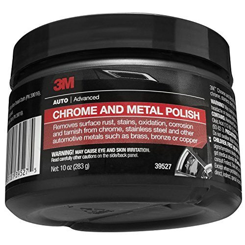 3M Chrome and Metal Polish, 39527, 10 oz