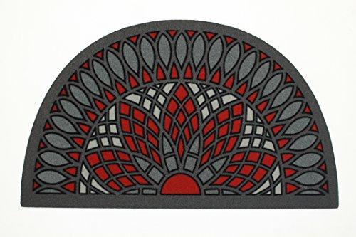 Felpudos Entrada Casa Originales Media Luna Marca De'Carpet