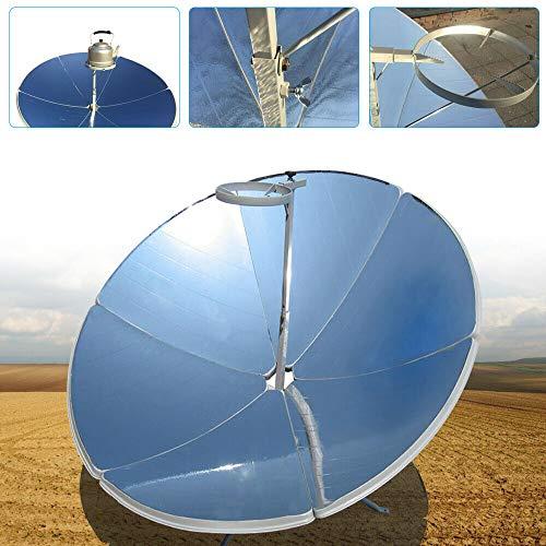 LiFuJunDong 1800W Concentrating Solar Cooker Solar Cooker Sun Oven Outdoor Oven 1.5m Diameter Parabolic Focal Spot Temperature:700-1000°C