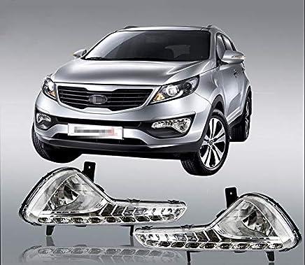 FidgetGear DRL - Luz LED de circulación Diurna modificada para Kia Sportage R 2010-2014