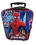Spiderman Koffer, rot (Blau) - SPID001182/213/216