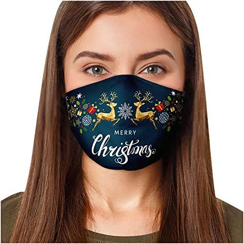 Preisvergleich Produktbild YYQX 2021 Multifunktionstuch Waschbar Atmungsaktive Stoffe Face Cover Kreativität 3D Drucken Staubdichte Mund und Nasenschutz