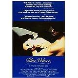 QQWER Blue Velvet Movie Poster Leinwandbilder Poster Und