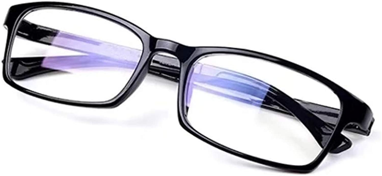 BMY Antibluee Light Glasses Synthetic Resin Lens Radiation Predection ESports Work Eye Predection Glasses Unisex (color   Black)