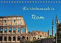 Ein Wochenende in Rom (Tischkalender 2022 DIN A5 quer): Ein Spaziergang durch die historische Altstadt der italienischen Hauptstadt Rom (Monatskalender, 14 Seiten )