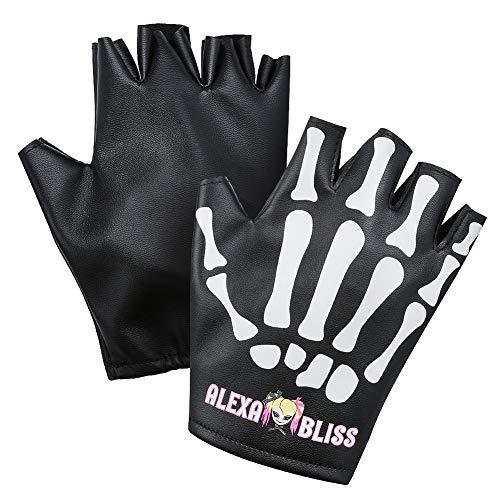 WWE Authentic Wear Alexa Bliss Little Miss Bliss Replica Gloves Multi
