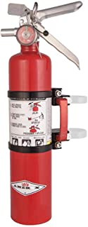 Axia Alloys Quick-Release Mount with 2.5lb Red Extinguisher (Black)
