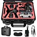 Hard Carrying Case for DJI FPV Drone, GAGITERVR Waterproof Suitcase for FPV Combo Fly More and Accessories Safe and Portable