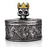 TBWHL Skeleton Head Jewelry Box Jewelry...