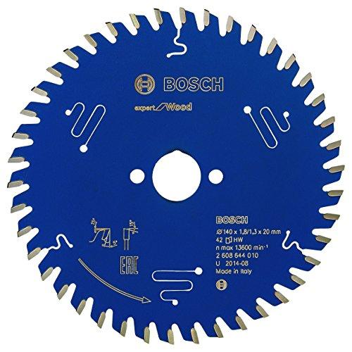 Bosch Professional Kreissägeblatt Expert für Wood (Holz, 140 x 20 x 1,8 mm, 42 Zähne, Zubehör Kreissäge)