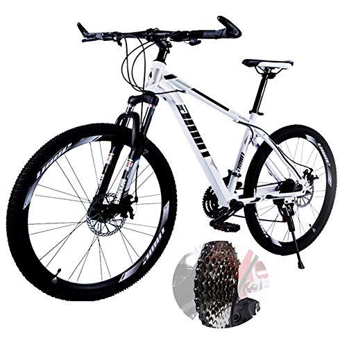LXDDP Mountainbike, Alonea 26In 21/24/27-Gang-Scheibenbremsrad Vollgefedertes MTB-Fahrrad für Erwachsene Jugendliche, Ölscheibenbremse