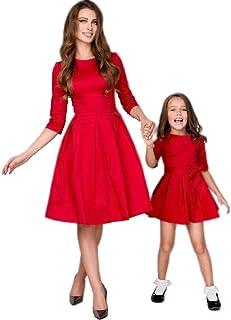 Vestiti Eleganti Mamma E Figlia.Ultimo Sconto Vendita Scontata Nuova Alta Qualita Abiti Mamma