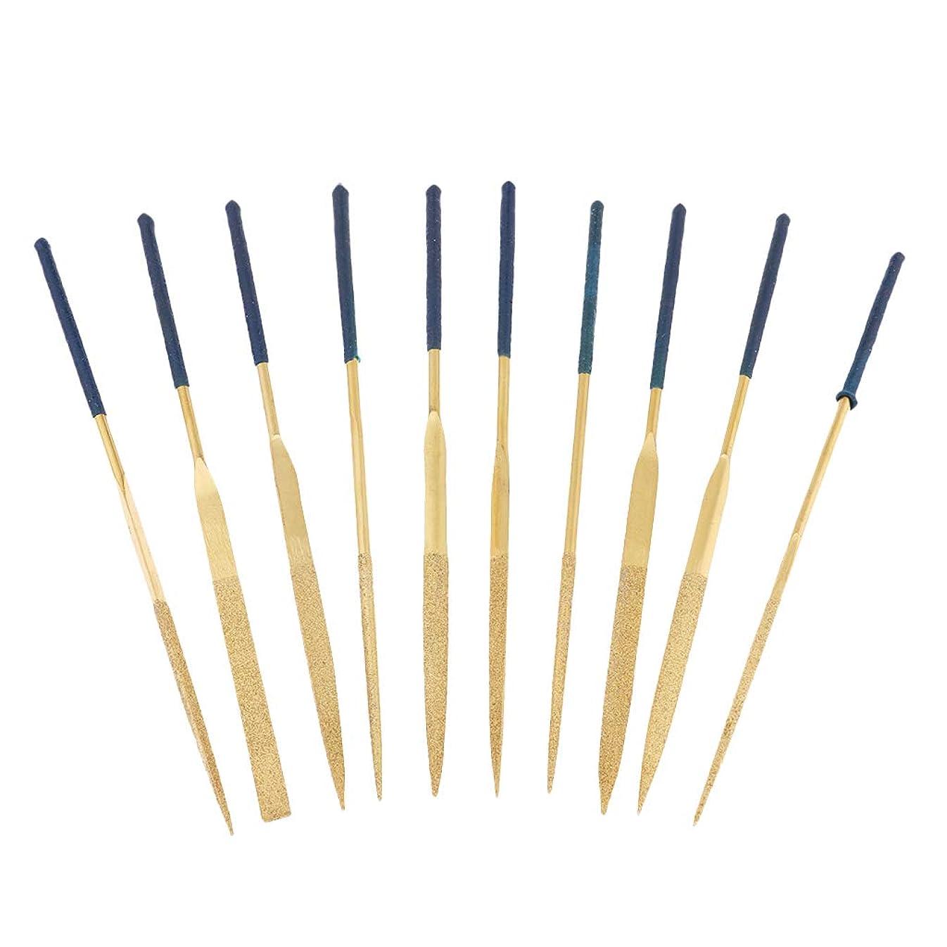 職業樹皮団結F Fityle ファイルニードルセット ミニ ファイルツール メイキングツール 全3選択 - 140x3mm
