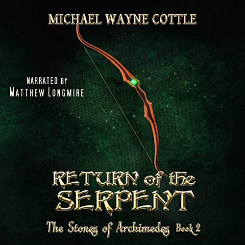 Return of the Serpent audiobook cover art