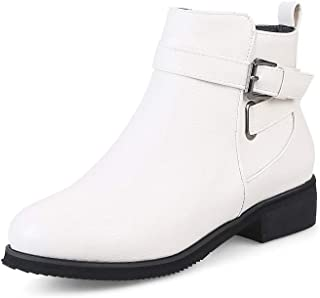 Women's Casual Shoes Fashion Martin Boots Slip-on Shoes