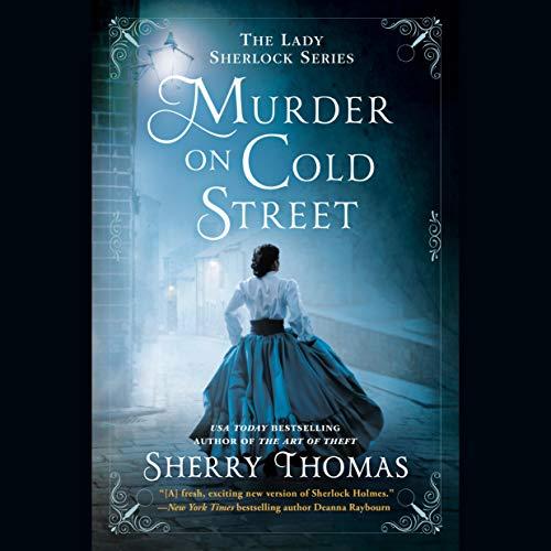 Murder on Cold Street audiobook cover art