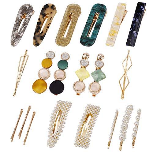Clips de Perlas, Moda Barrettes Accesorios para el Cabello