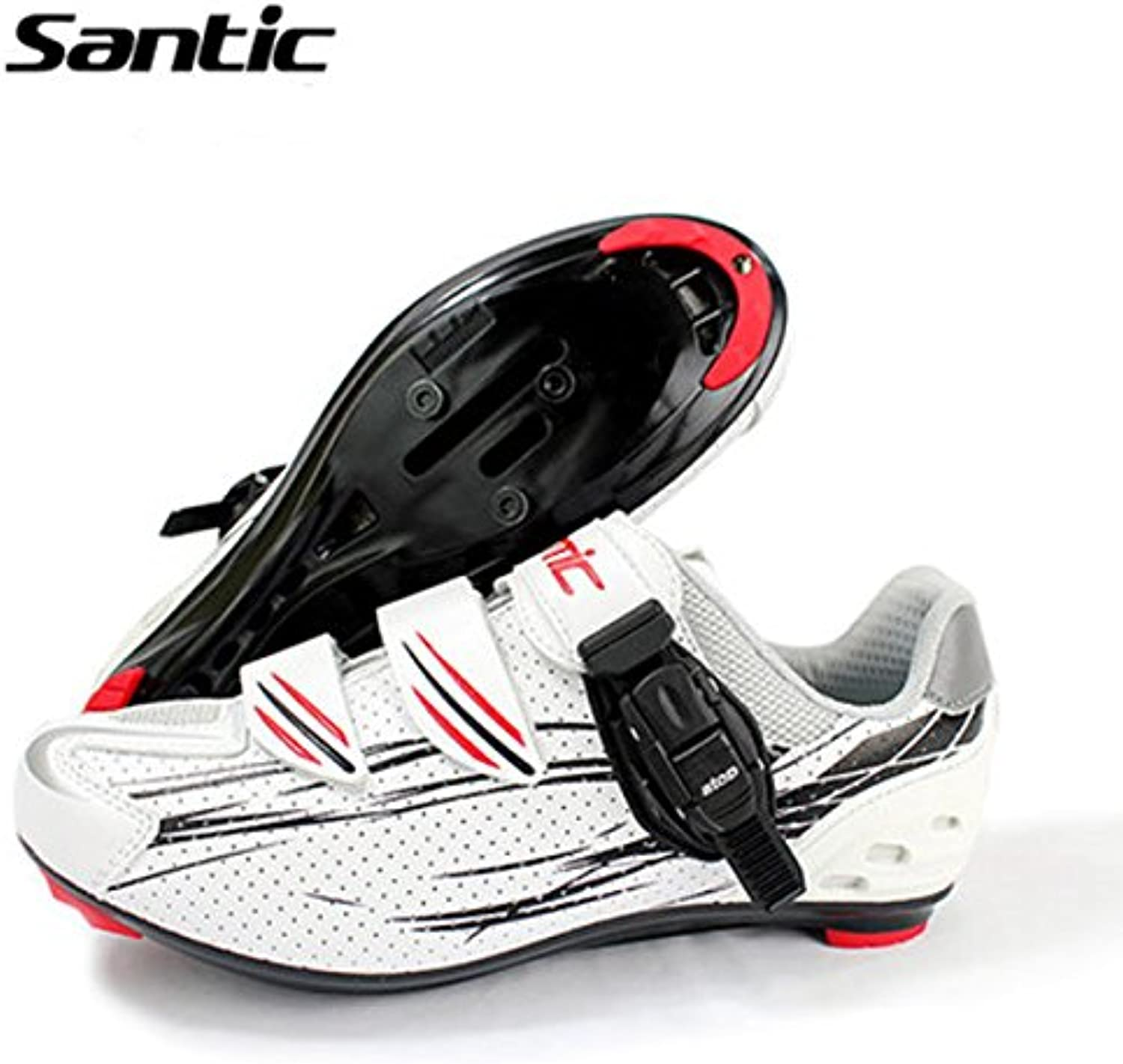 Bazaar Santic Cycling shoes Road Bike Bicycle shoes Locking shoes Sneakers