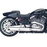 Harley Davidson VRSCF V-Rod MUSCLE tubos de níquel satinado