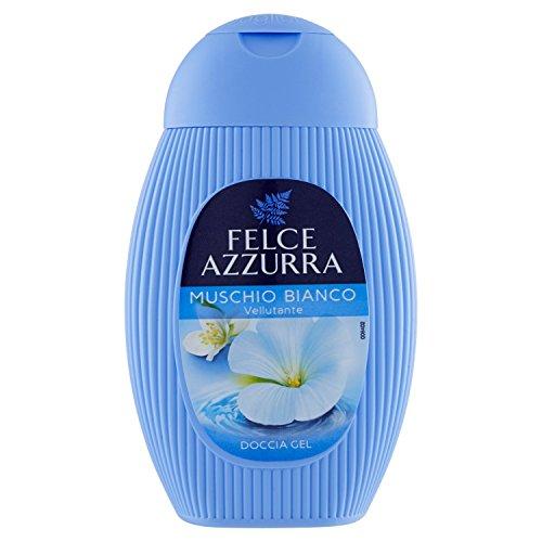 Fougère bleue docciagel Musc Blanc – 6 boîtes de 250 ml – Total : 1500 ml