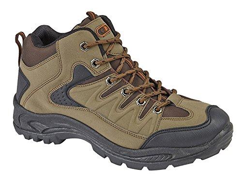 Chaussures de Randonnée/Marche Montantes pour Homme - Vert - kaki, 44