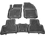 Rezaw-Plast Alfombrillas de Goma Compatible con Toyota C-HR (Desde 2016) + Limpiador de Plasticos (Regalo) | Accesorios Coche Alfombrilla Suelo