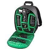 Dubens - Mochila de poliéster para cámara réflex digital d3200, d3100, d5200 y d7100