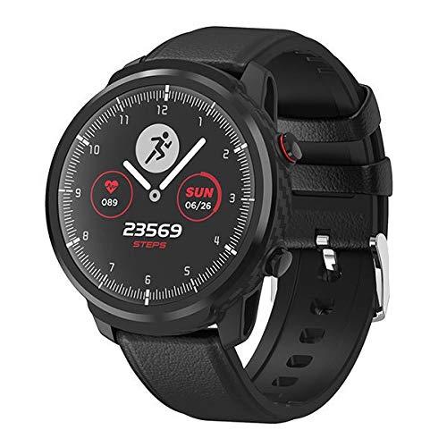WuMei101 Smart Watch Pantalla táctil Impermeable Sports Tracker, con Ritmo cardíaco y Monitor de presión Arterial, con Monitor de sueño, Adecuado para niños, Mujeres, Hombres, Relojes de podómetro de