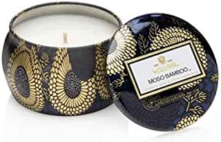 Voluspa Moso Bamboo Petite Tin Candle, 4 Ounces