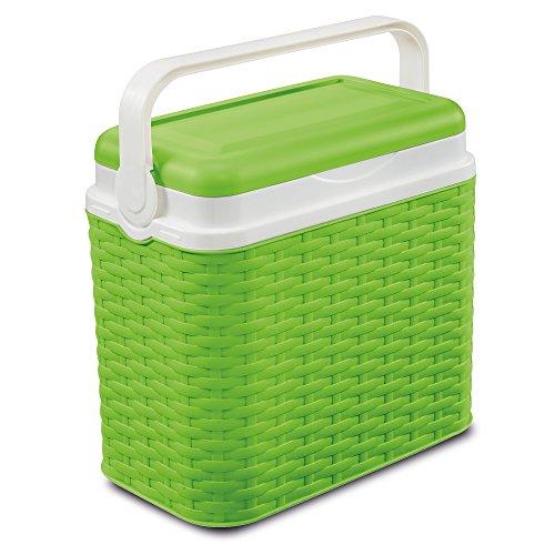 ADRIATISCHE 10 liter rotan ontwerp koelbox camping strand picknick reizen +1 ijs Pack reizen