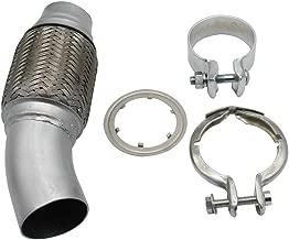 Festnight Filtre /à Particules Diesel pour Tuyau Flexible de Tuyau Flexible pour BMW E81 E82 E87 E88 E90 E91 E93