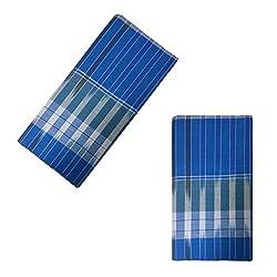 DGR Mens Cotton Lungi (Multicolour, Free Size)