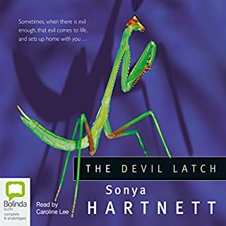 The Devil Latch                   By:                                                                                                                                 Sonya Hartnett                               Narrated by:                                                                                                                                 Caroline Lee                      Length: 5 hrs and 14 mins     8 ratings     Overall 2.3