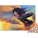 PThome05 Rompecabezas de 500 piezas para adultos Wonder Woman Christmas Jigsaw Puzzle...