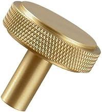 Deurkrukken, Metal Brass Net Grain Knurled Kitchen Door Handle 35mm / 130mm / 160mm, Garderobe Drawer Mini Handle Slaapkam...