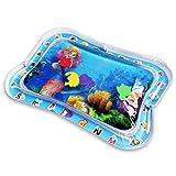 ZXYSR Colchoneta hinchable para bebés, esterilla de agua para bebés, divertida, de PVC, rellena, para niños y niños pequeños (66 x 50 cm)