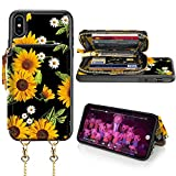 LAMEEKU iPhone Xs Max Wallet Case, iPhone Xs Max Card Holder...
