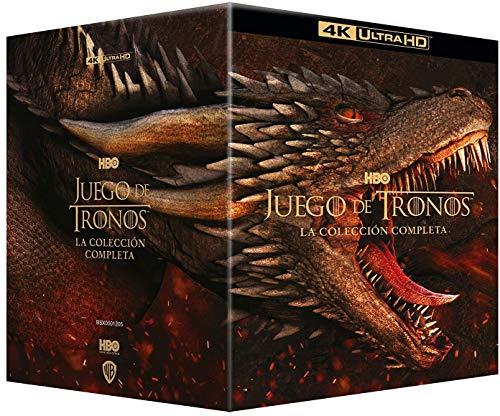 Juego de Tronos: La colección completa 4k UHD [Blu-ray]