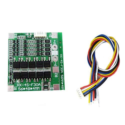 Guangcailun 4S 30A 14,8 V Protección PCB BMS Junta Li-ion de módulo celular cargador de batería de litio Lipo