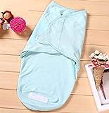 Jingdian fzw Baby Schlafsack Kinder Anti-Kick Schlafsack Vier Jahreszeiten Baby Schlafsack Frühling und Herbst (Farbe : Blau)