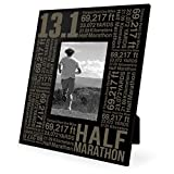 Gone For a Run 13.1 Math Miles Frame | Engraved Running Picture Frame Vertical 5X7