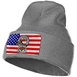 AOOEDM Clan Wallace Pro Libertate Unisex Knit Fold Over Beanie Hat Gorra de calavera para hombres y mujeres