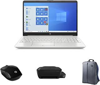 "HP Laptop 10th Gen (HP 15-dw2081ne, 15.6"" display, 10 Gen Intel Core i5, 4GB RAM, 256 GB SSD, 2GB Graphics Laptop + HP Ink..."