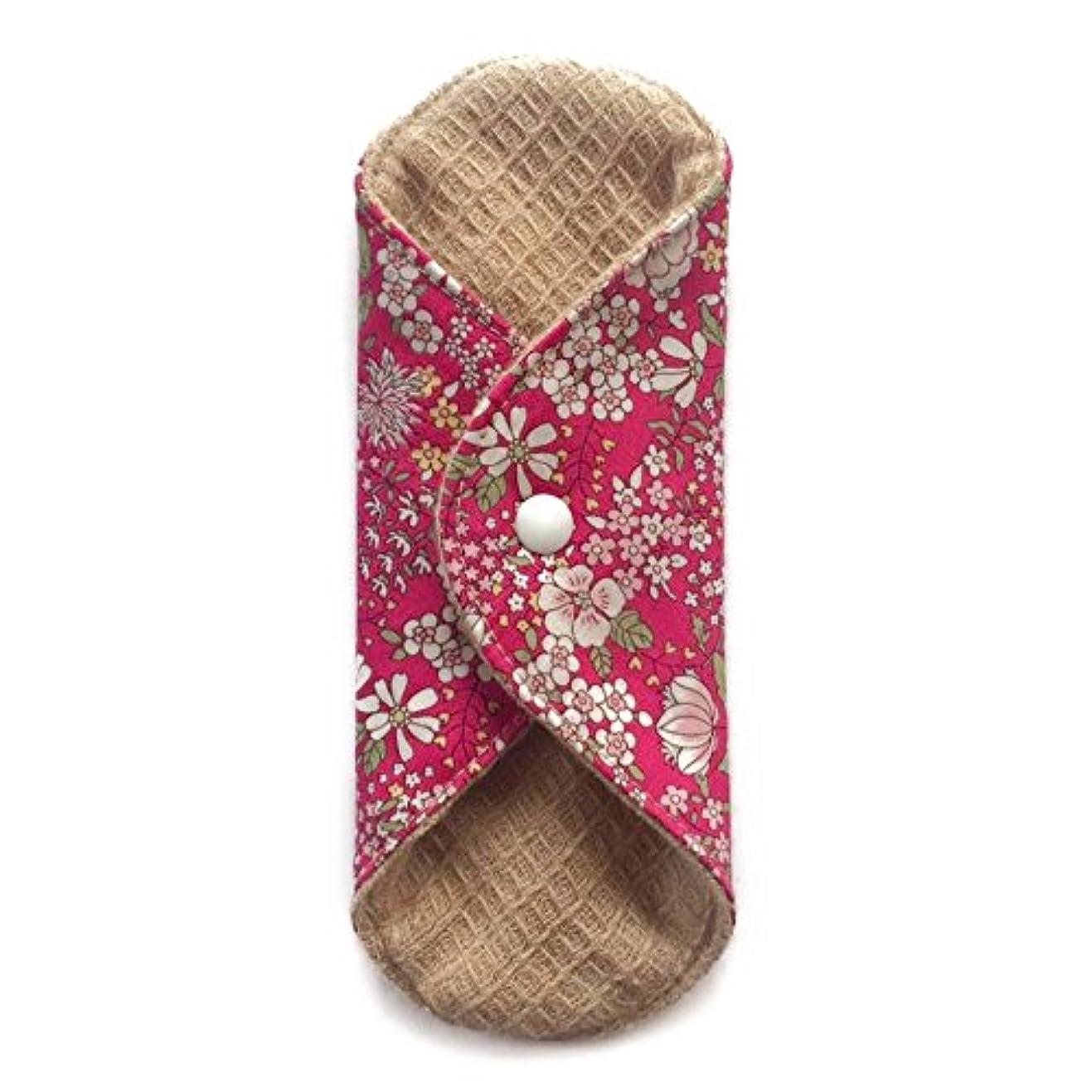 モットーアームストロング小包華布のオーガニックコットンの極み あたため布 Sサイズ (約13×約13×約0.6cm) 雅(ローズ)