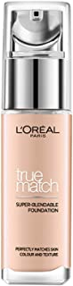 L'Oreal Paris True Match Liquid Foundation, 3.R/3.C Rose Beige, 30ml
